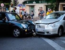 Uno de cada siete accidentes se produjo en Madrid, entre 2004 y 2009