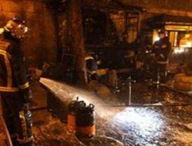 Incendio en una churrería en El Escorial