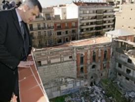 El PSOE pide expropiar ya el frontón Beti Jai