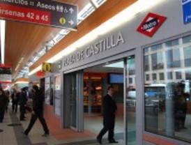 Reestablecido el suministro eléctrico a los comercios de Metro de Plaza de Castilla