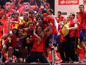 Madrid se entrega a los campeones del Mundo