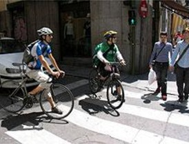 El PSOE denuncia que Madrid es capital europea con menos carriles para bicis