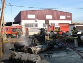 Herido grave tras un incendio en Leganés