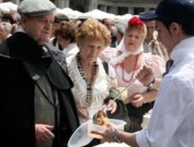 'Cocido solidario' en la Plaza Mayor
