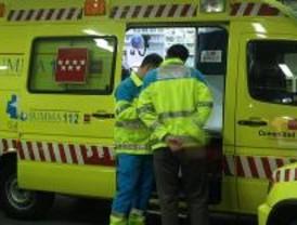 Un herido grave y uno leve en una colisión entre cuatro vehículos en Villalbilla