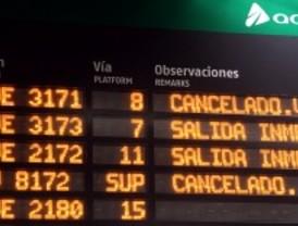 13.300 viajeros afectados por la huelga de trenes