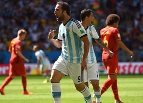 El oficio de Argentina le vale para meterse en semifinales