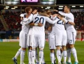 El Real Madrid arrasa en Mallorca
