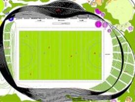 Juegos geométricos en la casa del hockey de Madrid 2016