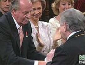 Antonio Gamoneda recibe el premio Cervantes en Alcalá