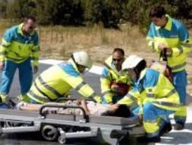 Un fallecido y cuatro heridos en varios accidentes en la A-3 por Fuentidueña del Tajo