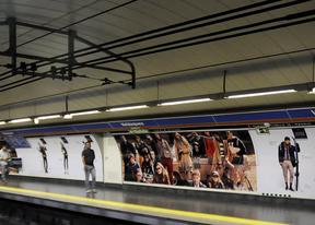Las nuevas 'meninas' del metro de Velázquez