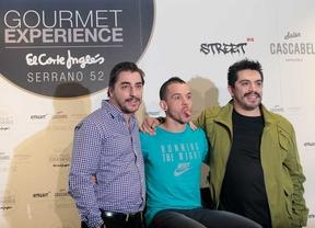 David Muñoz, Jordi Roca y Roberto Ruiz comparten espacio gastronómico en El Corte Inglés de Serrano