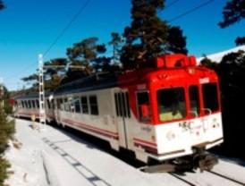 Descarrila sin heridos un tren de Cercanías en Navacerrada
