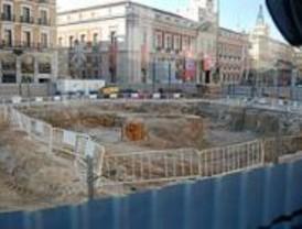 El PSOE hace responsable a la Comunidad y el Ayuntamiento del retraso de las obras de Sol