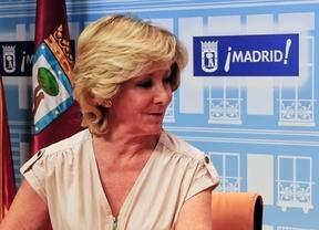 Esperanza Aguirre, la concejala