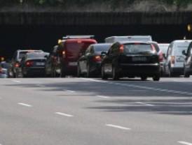 La hora punta condiciona el tráfico