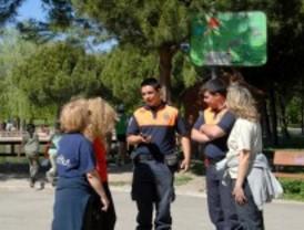 Protección civil vigilará los parques de Valdemoro