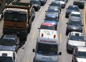 Cae un 17% el tráfico en las carreteras de pago de Madrid