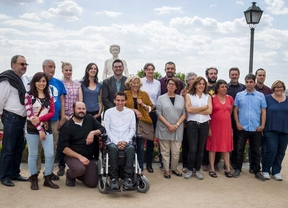 Presentación de los 20 concejales de Ahora Madrid.