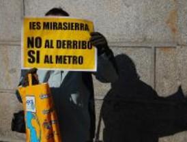 El PP de Madrid no evitará el derribo del IES Mirasierra