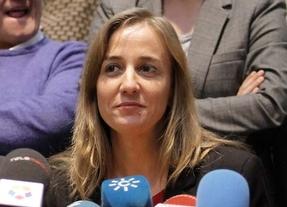 Rueda de prensa de Tania Sánchez