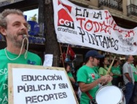 Confusión en el tercer día de huelga