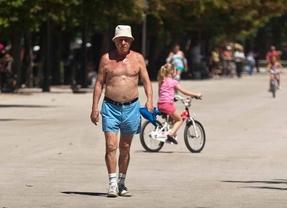 Las temperaturas subirán rápidamente hasta máximas de 39 grados
