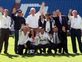 Los capitanes del Real Madrid no reciben al COI
