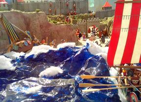 'Vicky el Vikingo' celebra su 40 aniversario en el Mercado del Juguete
