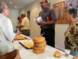 Santiago, pan y queso en Carabanchel