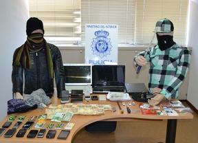 Detenidos dos atracadores pertenecientes a la banda los 'trinitarios'