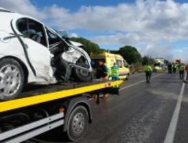 Seis heridos en dos accidentes de tráfico