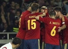 España favorita frente a Italia