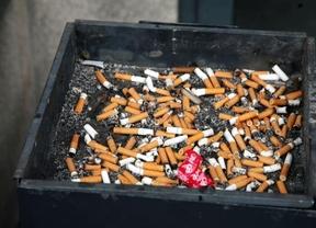 Cenicero de tabaco
