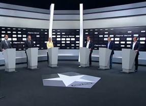 La corrupción anima el debate de candidatos a la Comunidad