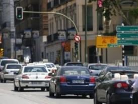Tráfico denso en las principales vías