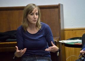 Tania Sánchez considera un error pensar más en IU que en los intereses del país