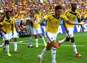 Colombia no se acuerda de Falcao y golea a Grecia