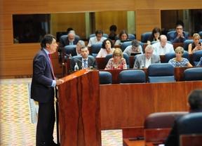 Ignacio González en su discurso en el debate del estado de la región