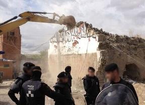 Vuelven las excavadoras a El Gallinero