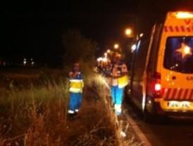 Tres muertos y dos heridos al salirse de la vía el turismo en el que viajaban en Aranjuez