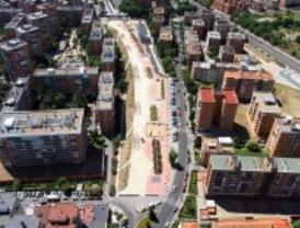 Cambian herida urbana por parque en Latina
