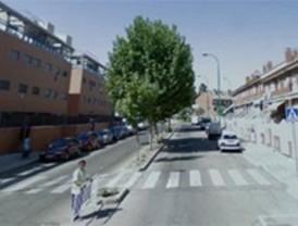 Cortan la calle Monte Perdido de Getafe