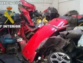Encuentran 66 vehículos robados en Casarrubuelos