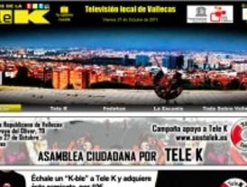Tele-K pide ayuda para seguir emitiendo