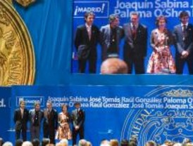 Medallas de oro para O´Shea, Tomás, Sabina y Raúl