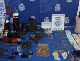 La Policía Nacional recupera 45 kilos de joyas robadas