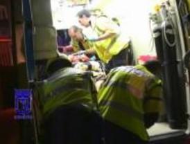 Dos trabajadores heridos, uno muy grave, en las obras del 'túnel de la risa'