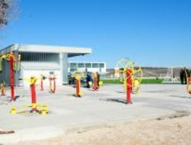 Inaugurado un parque deportivo y de ocio para mayores en Estremera